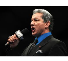 The UFCs Bruce Buffer has been announcing fights in the octagon since joining the promotion in 1996.