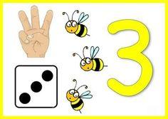 Numbers For Kids, Numbers Preschool, Preschool Letters, Preschool Math, Motor Skills Activities, Toddler Learning Activities, Montessori Activities, Math For Kids, Fun Math