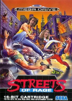 Another made up photo of the original Streets Of Rage with Mel Gibson as Axel Stone and Rene Russo as Blaze Fielding.