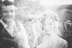 Backyard South African Wedding by A Vintage Affair ( Event Design and Flowers) + Lad & Lass (Photography) - via ruffled