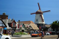 A scenic drive through California's windmills and wine country