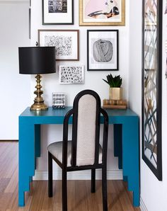 11 Tiny Office Nooks That'll Make You Want to Work from Home #RueNow