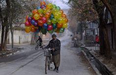 Kabul balloon seller