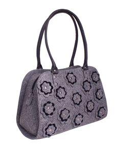 Beauty Tote Bag in Grey Diaper bag Women Tote Bag Bags by volaris