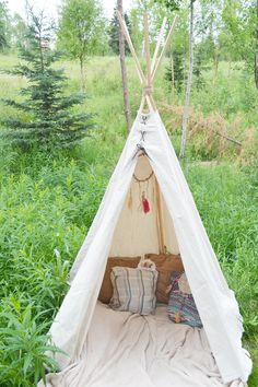 DIY- No Sew Teepee/Fawn Over Baby