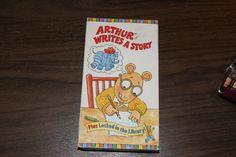 Arthur Writes a Story (VHS, 1997)