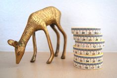 Small Tape Measure Washi Tape | Freckled Fawn #StudioCalicoPinToWin