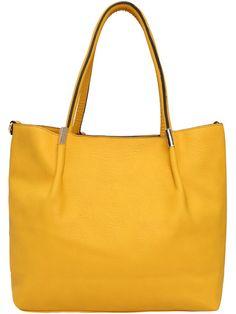 Yellow Bag Zero Purse Shoulder Pu Large Casual With Yellow Purses, Yellow Handbag, Leather Hobo Bags, Leather Handbags, Yellow Shoulder Bags, Bags Online Shopping, Fashion Handbags, Bag Sale, Purses And Bags