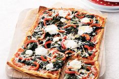 Dutch Recipes, Italian Recipes, Italy Food, Flatbread Pizza, Pizza Recipes, Tortilla Chips, Vegetable Pizza, Love Food, Foodies