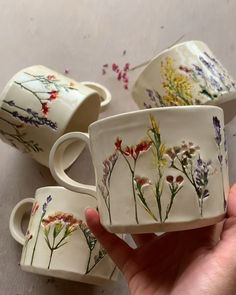Latest Screen Clay Pottery mugs Ideas mentions J'aime, 87 commentaires – Hessa Al Ajmani mentions J'aime, 87 commentai Ceramic Cups, Ceramic Pottery, Ceramic Art, Ceramics Pottery Mugs, Painted Pottery, Slab Pottery, Pottery Vase, Vintage Ceramic, Cerámica Ideas