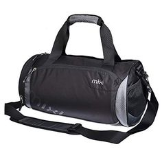 2ade2682999a Mixi Trendsetter Carry On Sports Gym Bag Travel Duffel Bags with Shoulder  Strap