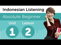 Indonesian Listening Practice - At a Restaurant in Indonesia Indonesian Language, Speak Language, Bali Lombok, World Languages, Words To Use, Always Learning, Learning Resources, Teaching, Youtube