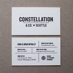 New Constellation Cards