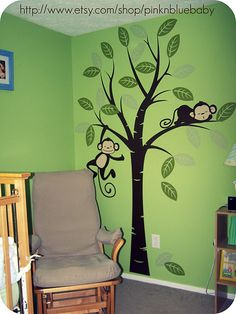 Cute nursery wall idea