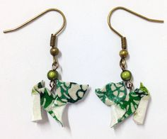 Origami Cat, Japanese Paper, Etsy, Drop Earrings, Jewelry, Locs, Jewels, Schmuck, Drop Earring