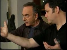 Neil Diamond and Jimmy Kimmel being a Neil impersonator - YouTube