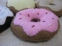 Felt donut collection by kimamaya on Etsy