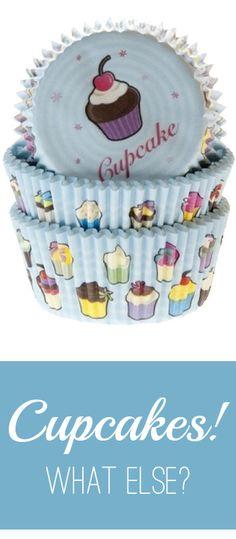 Muffinförmchen im dekorativen Cupcake-Design. Unverzichtbar für Ihre kleinen Kuchen. #Muffinförmchen