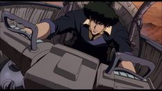 Cowboy Bebop: The Movie Blu-ray Release Date June 2011 Ao No Exorcist, Blue Exorcist, Cowboy Bebop, Asian Landscape, Spice And Wolf, Space Cowboys, Boruto Naruto Next Generations, Looks Cool, Transformers