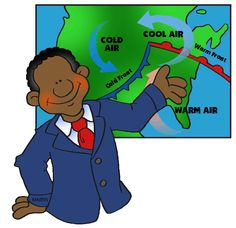 Weather Fronts (Weather Unit) - Free Science Lesson Plans, Activities, Powerpoints, Interactive Games