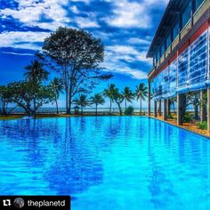 Amazing capture by @theplanetd Reposted by @stockphotolk  Share your photographs with #stockphotolk Sign up on www.stockphoto.lk for free and convert your creativity into revenue! .  A sight for sore eyes after a day exploring southern Sri Lanka. As the humidity bears down on us visions of the inviting blue waters of the pool at our hotel dance in my head. The weather has been great here this week in Sri Lanka and it has been really nice being able to enjoy the warmth while reading about the…