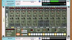 Drum Machine 101 with Redrum - Micro Tutorial Reason Music, Digital Audio Workstation, Backing Tracks, Drum Machine, Home Studio, Software Development, Drums, Tutorials, Tips
