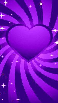 Heart Iphone Wallpaper, Star Wallpaper, Nature Wallpaper, Wallpaper Backgrounds, Wallpapers, Video Maker, Shades Of Purple, Heart Designs, Bling