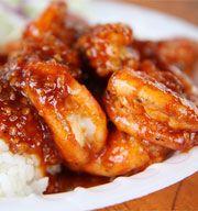 Asian Recipe Saucy Shrimp