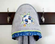 Items similar to sports soccer ball hooded infant towel many colors on Etsy Soccer Boys, World Cup 2014, Hoods, Infant, Towel, Crochet Hats, Beanie, Trending Outfits, Unique Jewelry