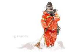 《锦鲤跃新春》希望新的一年,每个人都能成为锦鲤本鲤 - 原创作品 - 站酷(ZCOOL) China, Porcelain Ceramics, Porcelain