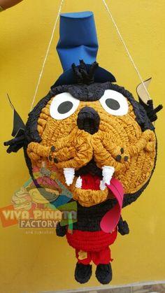 Piñata Lobo del cuento los tres cochinitos... Recuerden que hacemos envíos a toda la República, sorprendan a sus pequeños.