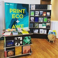 Print Eco & Awesome 🤘🏼 heute auf der Druck und Design  in München #druckunddesign #fundw #theartofprint #makeprintgreatagain Andy Warhol, Design, Printing