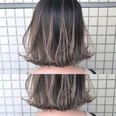 Medium Hair Cuts, Medium Hair Styles, Short Hair Styles, Hair Inspo, Hair Inspiration, Ash Brown Hair, Asian Short Hair, Gorgeous Hair Color, Hair Streaks