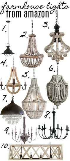 Shop all the light fixtures above with my affiliate links: 1// 2// 3// 4// 5// 6// 7// 8// 9//1o// 11// As we get closer to making more progress on the kitchen here in the farmhouse it has …