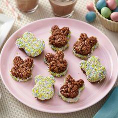 Cocoa Crisped Rice Cereal Bunny Treats