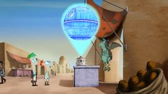 Estrela da Morte (Holograma)   Star Wars