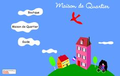 www.maisondequartier.com - learn french online
