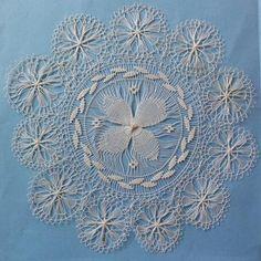 Tenerife, Needle Lace, Bobbin Lace, Lace Weave, Drawn Thread, Circular Pattern, Point Lace, Running Stitch, Lace Making