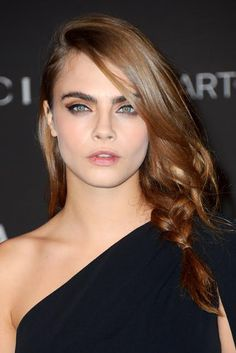 Cara Delevingne Is A Brunette Now