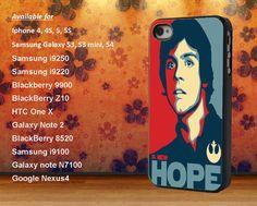 star wars luke skywalker new hope case iphone 4 4s 5 5s 5C Samsung S2 S3 S4 Mini HTC M7 M8 ONE X Nexus 4 5 LG G2 Xperia Z Z1 razr D1 D2 X
