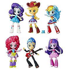 My Little Pony Equestria Girls Minis School Dance Collection Doll Set - Hasbro… My Little Pony Dolls, New My Little Pony, My Little Pony Cake, Equestria Girls Minis, My Little Pony Equestria, Rainbow Dash, Cumple My Little Pony, School Dances, My Little Pony Friendship