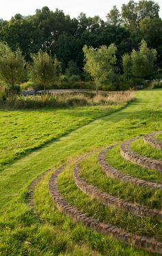 the origin of grass steps:  Traditional Terraces - Acres Wild