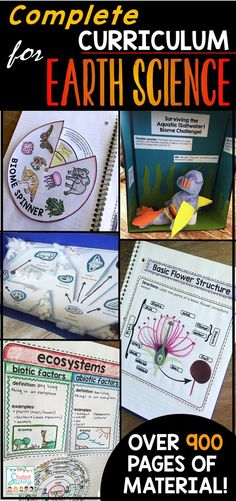 Earth Science- bio system and parts of a flower Earth Science Activities, Earth And Space Science, Science Curriculum, Science Resources, Science Classroom, Science Lessons, Science Education, Teaching Science, Science For Kids