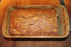 Finished Apple Bread