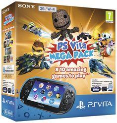 BARGAIN PS Vita Mega Pack With 10 Games & 8GB Memory £130 Using Code 'CONSOLE' At ASDA Direct - Gratisfaction UK