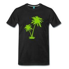palmeras Camisetas - Camiseta premium hombre