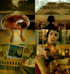 "Amélie (dir. Jean Pierre Jeunet) Love the colors and ""look"" of this film (plus it is just one of my favorite movies in general!)"