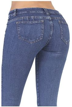 7ad0832084081 Curvify Stretch Butt Lifting Skinny Jeans - High Waisted