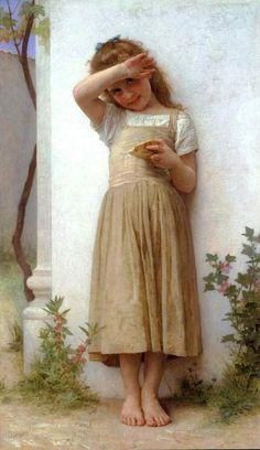 En penitence-William Adolphe Bouguereau (1825 – 1905, French)....