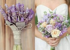 lavender and baby's breath bouquet - Google Search